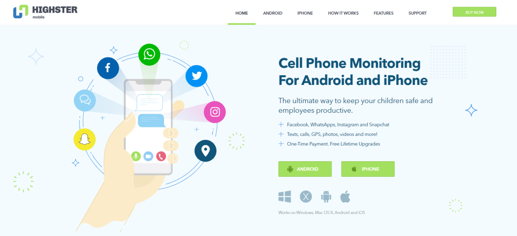 highster iphone cell phone monitoring software homepage
